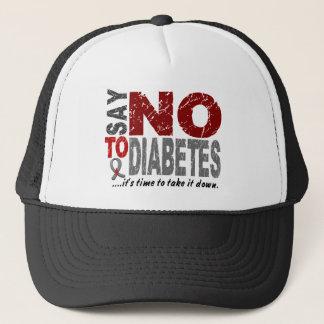 Say NO To Diabetes 1 Trucker Hat