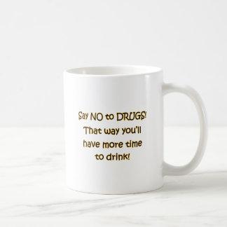 Say NO to DRUGS Coffee Mug