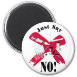 Say No to Drugs Fridge Magnet