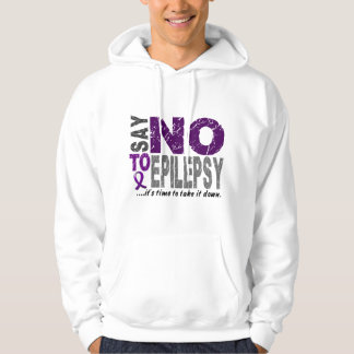Say NO To Epilepsy 1 Hoodie