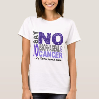 Say NO To Esophageal Cancer 1 T-Shirt