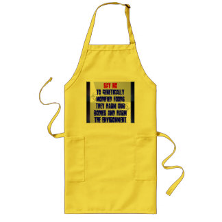 say no to GMF apron
