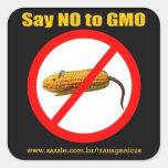 Say NO to GMO Adesivos