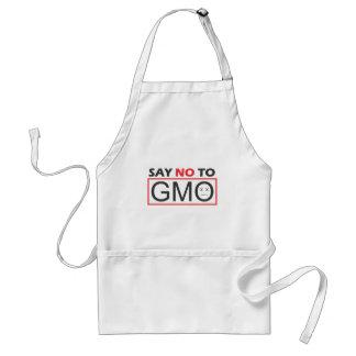 Say NO to GMO Adult Apron