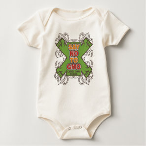 Say No to GMO Baby Bodysuit