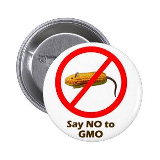 Say NO to GMO Button
