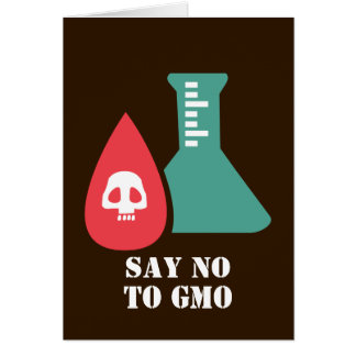 Say No to GMO Card