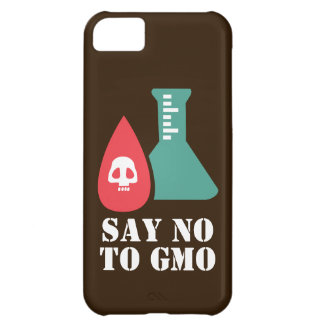 Say No to GMO Cover For iPhone 5C