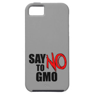 Say NO to GMO iPhone SE/5/5s Case