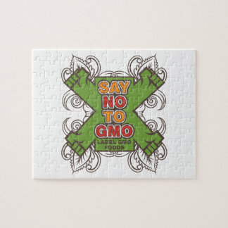 Say No to GMO Jigsaw Puzzle