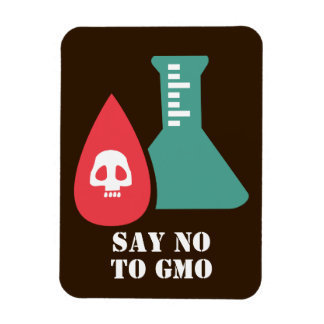 Say No to GMO Magnet