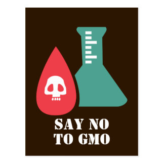 Say No to GMO Postcard