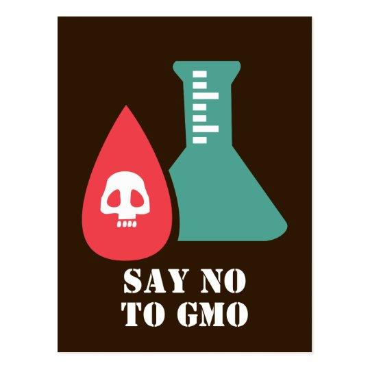 Say No to GMO Postcard