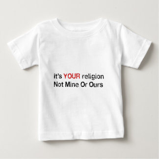 Say No To God Cults Baby T-Shirt