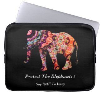 "Say ""NO"" To Ivory Laptop Sleeves"