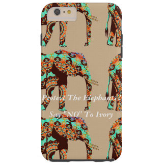 "Say ""NO"" To Ivory Tough iPhone 6 Plus Case"
