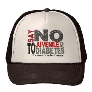 Say NO To Juvenile Diabetes 1 Trucker Hats