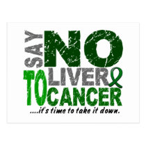 Say NO To Liver Cancer 1 Postcard