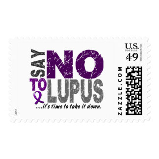 Say NO To Lupus 1 Postage Stamp