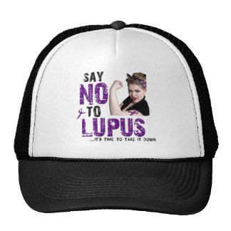 Say NO to LUPUS Trucker Hat
