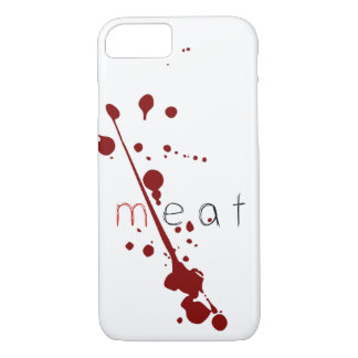SAY NO TO MEAT phone case