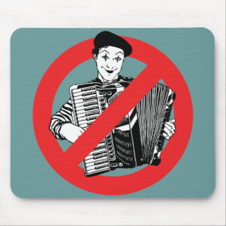 SAY NO TO MIMES MOUSE PAD