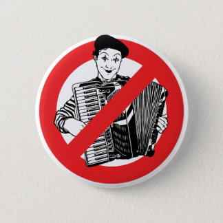 SAY NO TO MIMES PINBACK BUTTON