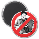 SAY NO TO MIMES REFRIGERATOR MAGNET