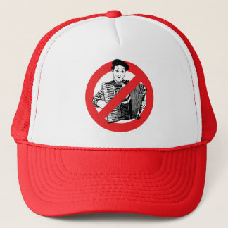 SAY NO TO MIMES TRUCKER HAT