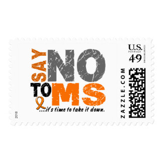 Say NO To MS 1 Postage Stamps