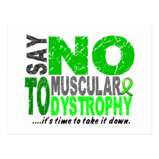 Say NO To Muscular Dystrophy 1 Postcard
