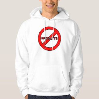 """Say """"NO"""" to Mutant Authority/Takeover Hoodie"""