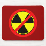 Say NO to Nuclear Power and Radiation Tshirts Mouse Pads