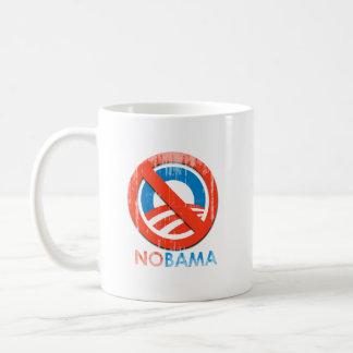 Say No To Obama 3 nobama Faded.png Classic White Coffee Mug