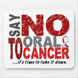 Say NO To Oral Cancer 1 Mouse Mat