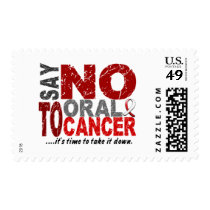 Say NO To Oral Cancer 1 Postage