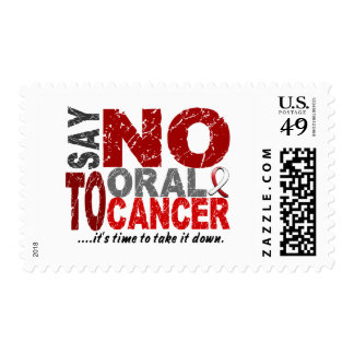Say NO To Oral Cancer 1 Stamp