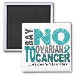 Say NO To Ovarian Cancer 1 Refrigerator Magnet