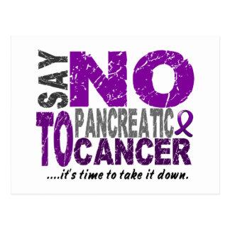 Say NO To Pancreatic Cancer 1 Postcard