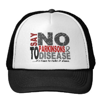 Say NO To Parkinsons Disease 1 Hats