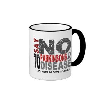 Say NO To Parkinsons Disease 1 Coffee Mugs