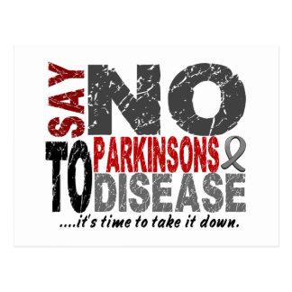 Say NO To Parkinsons Disease 1 Post Card