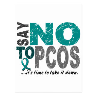 Say NO To PCOS 1 Postcard