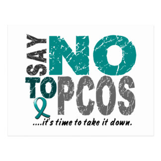 Say NO To PCOS 1 Post Cards