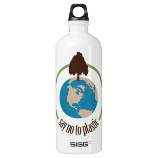 Say No to Plastic Aluminum Water Bottle