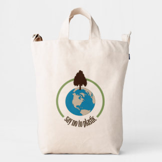 Say No to Plastic Duck Bag