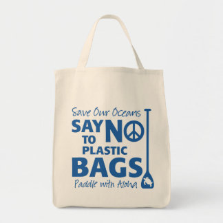Say No to Plastic!  Organic Grocery Bag from Paddl