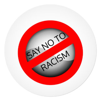 Say no to racism card