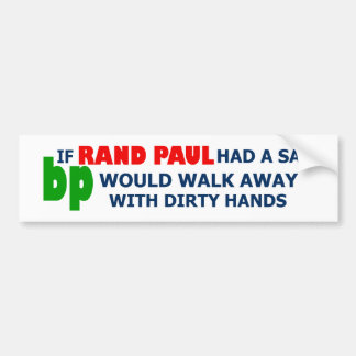 Say no to Rand Paul Bumper Sticker