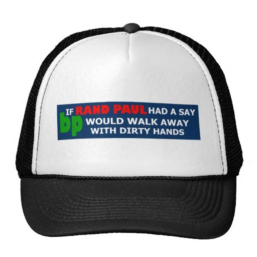 Say no to Rand Paul Hats